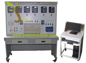 Telephone Exchange Trainer Teaching Equipment Vocational Training Equipment pictures & photos