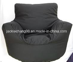 Black Color Oxford Fabric Beanbag Cover with Coating pictures & photos