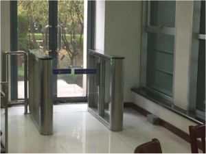 TCP/IP Fast Pass Auto Security Speed Lane Turnstile with RFID Reader pictures & photos