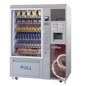 Snack/Cold Drink and Coffee Vending Machine (LV-X01) -2 pictures & photos