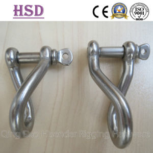 Twisted Shackle, Good Quality, Stainless Stee316, Ss304 with Screw Pin pictures & photos