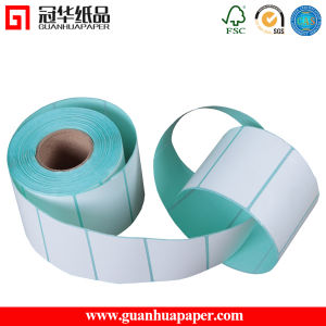 Direct Thermal Paper Label Roll Self Adhesive Sticker/Label pictures & photos