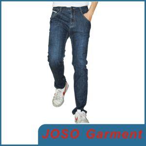 Men′s Medium Indigo Straight Leg Jeans (JC3024) pictures & photos