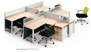 4 Seats F Shape Office Desk Workstation pictures & photos