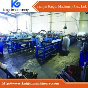 Ceiling T Bar Roll Forming Machine Rear Factory pictures & photos