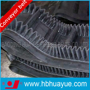 Ep/Nn Rubber Corrugate Sidewall Conveyor Belt (B400-1600mm) pictures & photos