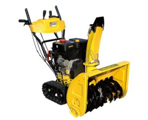 Cheap 11HP Loncin Gasoline Snow Thrower (ZLST1101Q) pictures & photos