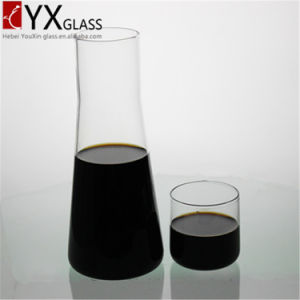 1000ml High-Borosilicate Glass Carafe with Glass Cap/ Glass Drinking Pitcher/ Glass Water Pitcher with Glass Cup pictures & photos