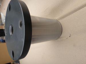 Welding Shaft Seat, CNC Machining Spline Shaft pictures & photos