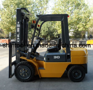 Diesel Forklift 3 Tons with Japanese Engine (CPCD30) pictures & photos
