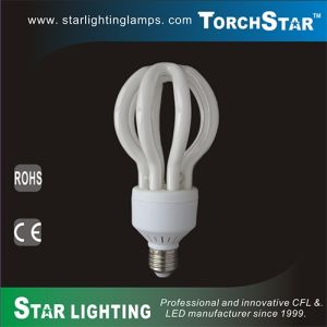 Lotus Shape Large Power 6500lm Compact Flourescent Lamp pictures & photos