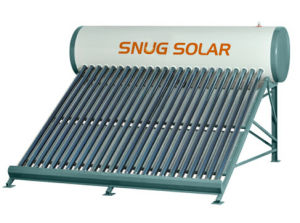 80 Gallon Rooftop Solar Water Heater with CE Certificate pictures & photos