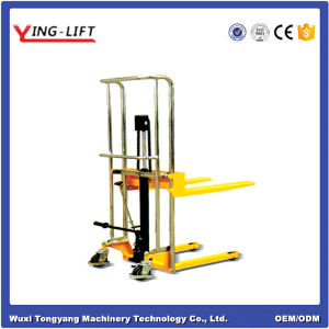 Ej Series Adjustable Fork Type Manual Stacker pictures & photos