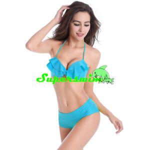 Fold Style Swimwear Bikini for Lady pictures & photos