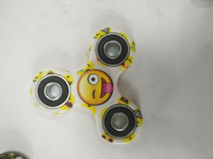 Newest Hand Spinner Colorful Plastic QQ Smiling Face Finger Spinner pictures & photos