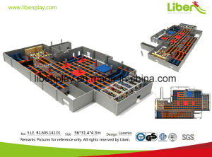 Professional Indoor Trampoline Park Chinese Manufacture pictures & photos