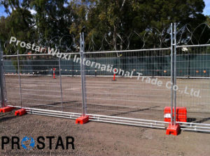 Safety Temporary Fence with Concrete Filled Feet pictures & photos