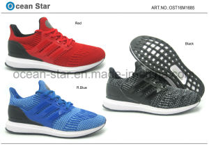 Latest High Quality Flyknit Young Breathable Man Shoes pictures & photos