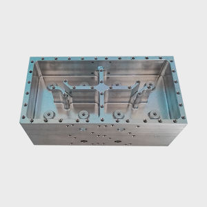 CNC Machining Aluminum Filter Housing, Machined Part pictures & photos