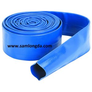 Heavy Duty PVC Sunny Layflat Hose pictures & photos