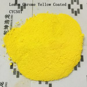 Inorganic Pigment Lemon Chromeyellow Coated High Temperature Resistance pictures & photos