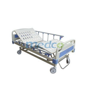Three Functions Hospital Bed Furniture, Adjustable Electric Hospital Patient Bed pictures & photos