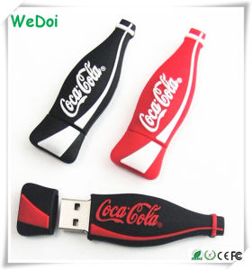 Cartoon Cocacola Bottle USB Stick with 1 Year Warranty (WY-PV63) pictures & photos