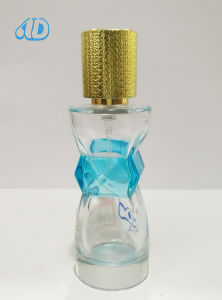 Ad-P446 Irregual Shape Spray Glass Perfume Bottle 30ml pictures & photos