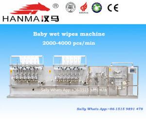 Hm-Zd1280A Baby Wet Wipes Folding Machine