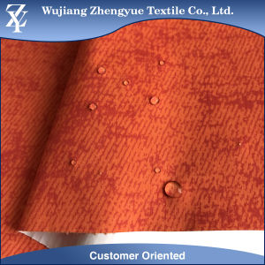 380t Waterproof Laminated Ripstop Printed Nylon Taffeta Fabric for Coat pictures & photos