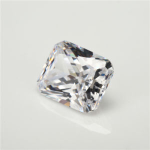 Russia Cubic Zirconia Brincos Zircon White Octangle Cut CZ Stone pictures & photos