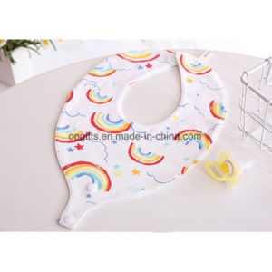 100% Cotton Lovely Baby Bandana Drool Bib with Snap pictures & photos