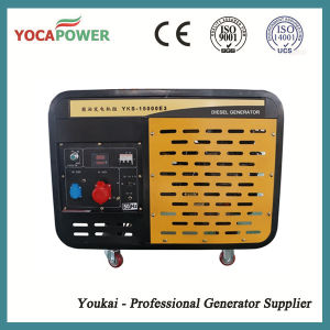 Portable Electric Power 10kw Air Cooled Generator Set pictures & photos