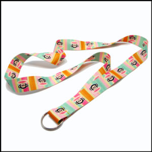 Decorative Dye Sublimated/Heat Transfer Custom Lanyard with Free Setup pictures & photos
