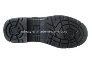 Smooth Leather Sandal Work Shoe (HQ01031) pictures & photos