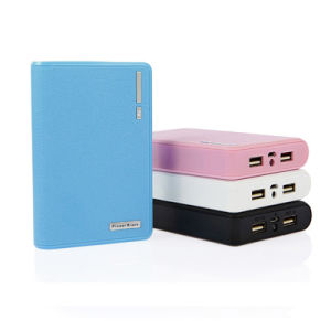 6000mAh Large Capacity Portable LED Torch High Quality Powerbank Wallet pictures & photos
