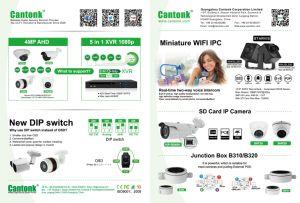 Weatherproof Mini Doom Ahd/Cvi/Tvi CCTV Camera (KHA-SHT30) / pictures & photos