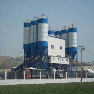 China Factory High Efficient Hls Concrete Mixing Plant for Sales pictures & photos