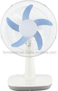 "16"" Desk Fan 5 Blade 15W AC DC Electric Fan pictures & photos"