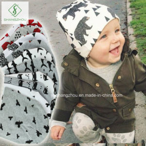 New Arrival Cotton Baby Hat Set Printed Beanie Kids Cap pictures & photos
