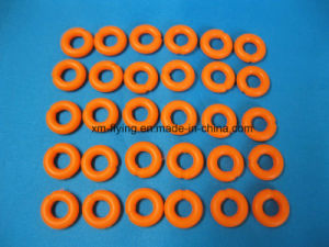 High Quality Medical Grade Injection Molded Colored Silicone Tourniquet O -Rings pictures & photos