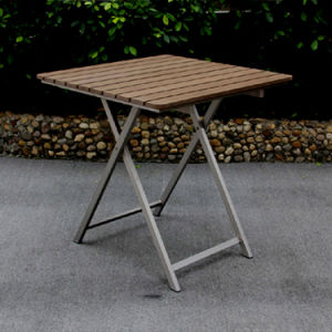 Leisure Cafe Beer Outdoor Furniture Powder Spraying Aluminum Folding Chair Table Set pictures & photos
