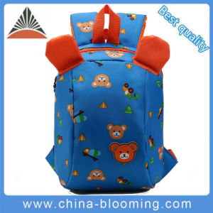 New Design Cartoon Blue Children 600d Polyester Smiggle Kids School Bag pictures & photos