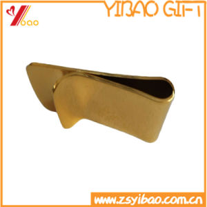 Custom High Quality Enamel Debossed /Embossed Metal Money Clip (YB-HR-53) pictures & photos