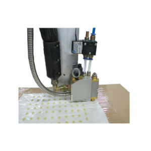 Automatic Three Axis Cold Gluing Dispensing Machine pictures & photos