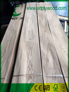 Natural Wood Veneer Ash Crown Cut pictures & photos