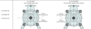 Cg Series Clean Water Multistagel Pump pictures & photos