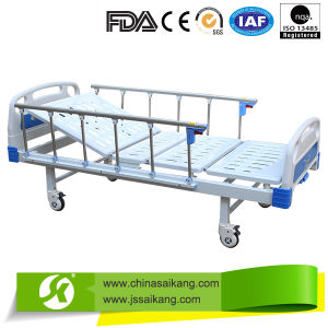Hospital Furniture Simple Hospital Bed with Commode pictures & photos