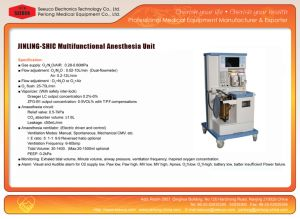 Ce/ISO Approval Multi-Functional Anesthesia Workstation Jinling-840 pictures & photos