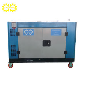 Diesel Genset 10kw Excitation Generating Set pictures & photos